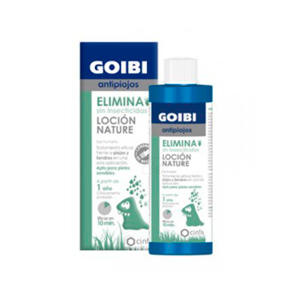 Goibi Elimina Locion Nature Antipiojos 200ml